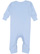 INFANT BABY RIB COVERALL Light Blue Back