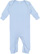 INFANT BABY RIB COVERALL Light Blue Open
