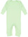INFANT BABY RIB COVERALL Mint