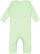 INFANT BABY RIB COVERALL Mint Back
