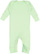 INFANT BABY RIB COVERALL Mint Open