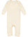 INFANT BABY RIB COVERALL Natural