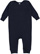 INFANT BABY RIB COVERALL Navy Open