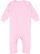 INFANT BABY RIB COVERALL Pink