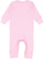 INFANT BABY RIB COVERALL Pink Back