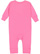 INFANT BABY RIB COVERALL Raspberry Back