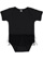 INFANT TUTU BABY RIB BODYSUIT Black