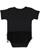 INFANT TUTU BABY RIB BODYSUIT Black Back