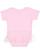 INFANT TUTU BABY RIB BODYSUIT Pink Back