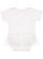 INFANT TUTU BABY RIB BODYSUIT White