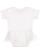 INFANT TUTU BABY RIB BODYSUIT White Back