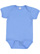 INFANT FINE JERSEY BODYSUIT Carolina Blue Open