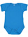 INFANT FINE JERSEY BODYSUIT Cobalt Open