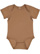 INFANT FINE JERSEY BODYSUIT Coyote Brown