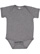 INFANT FINE JERSEY BODYSUIT Granite Heather