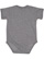 INFANT FINE JERSEY BODYSUIT Granite Heather Back