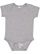 INFANT FINE JERSEY BODYSUIT Heather Open