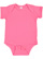 INFANT FINE JERSEY BODYSUIT Hot Pink Open