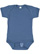 INFANT FINE JERSEY BODYSUIT Indigo Open