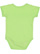 INFANT FINE JERSEY BODYSUIT Key Lime Back