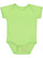 INFANT FINE JERSEY BODYSUIT Key Lime Open