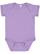INFANT FINE JERSEY BODYSUIT Lavender