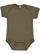 INFANT FINE JERSEY BODYSUIT Military Green