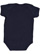 INFANT FINE JERSEY BODYSUIT Navy Back