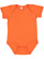 INFANT FINE JERSEY BODYSUIT Orange