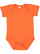 INFANT FINE JERSEY BODYSUIT Orange Open