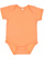 INFANT FINE JERSEY BODYSUIT Papaya