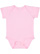 INFANT FINE JERSEY BODYSUIT Pink Open