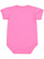INFANT FINE JERSEY BODYSUIT Raspberry Back