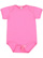 INFANT FINE JERSEY BODYSUIT Raspberry Open