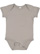 INFANT FINE JERSEY BODYSUIT Titanium Open