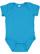 INFANT FINE JERSEY BODYSUIT Turquoise