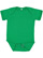 INFANT FINE JERSEY BODYSUIT Vintage Green Open