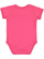 INFANT FINE JERSEY BODYSUIT Vintage Hot Pink