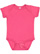 INFANT FINE JERSEY BODYSUIT Vintage Hot Pink Open
