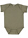 INFANT FINE JERSEY BODYSUIT Vintage Military Green