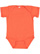 INFANT FINE JERSEY BODYSUIT Vintage Orange