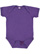 INFANT FINE JERSEY BODYSUIT Vintage Purple Open