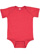 INFANT FINE JERSEY BODYSUIT Vintage Red