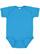 INFANT FINE JERSEY BODYSUIT Vintage Turquoise