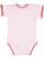 INFANT RUFFLE BODYSUIT Ballerina/Mauvelous Back