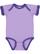 INFANT RUFFLE BODYSUIT Lavender/Purple