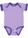INFANT RUFFLE BODYSUIT Lavender/Purple Open