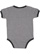 INFANT RETRO RINGER BODYSUIT Granite Heather/Vintage Smoke Back