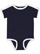 INFANT RETRO RINGER BODYSUIT Navy/White