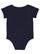INFANT RETRO RINGER BODYSUIT Navy/White Back